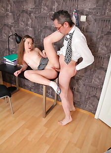 xxx pics Young schoolgirl Sara gets cum on tiny, ass , panties