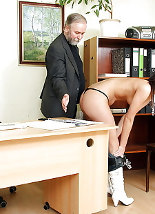 xxx pics Office secretary is sucking this old, ass , blowjob