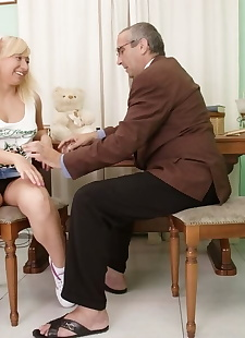 xxx pics Blonde teen student nika star gets, Nika Star , blonde , blowjob