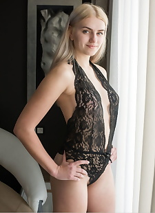 xxx pics Young blonde girl shows her awesome, blonde , lingerie
