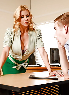 xxx pics MILF teacher Alexis Fawx and, blonde , panties